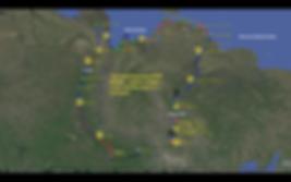карта экспедиции Арктика-Индигирка-2016