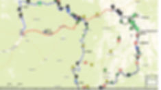 карта маршрута на реку Юдома
