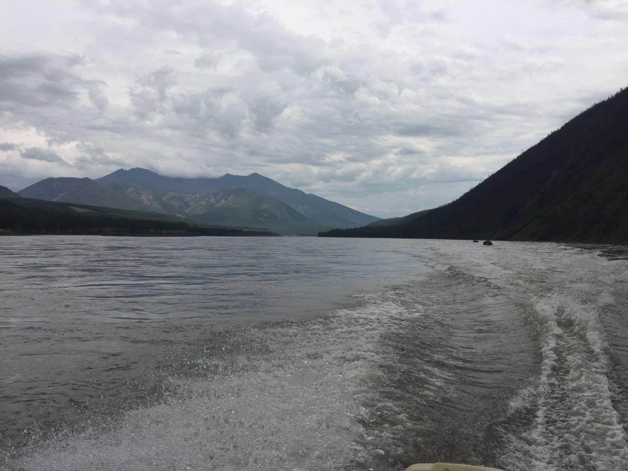 Чистый ход по отличной воде.