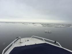 Беркут пробивается за топливом в Нижнеянск