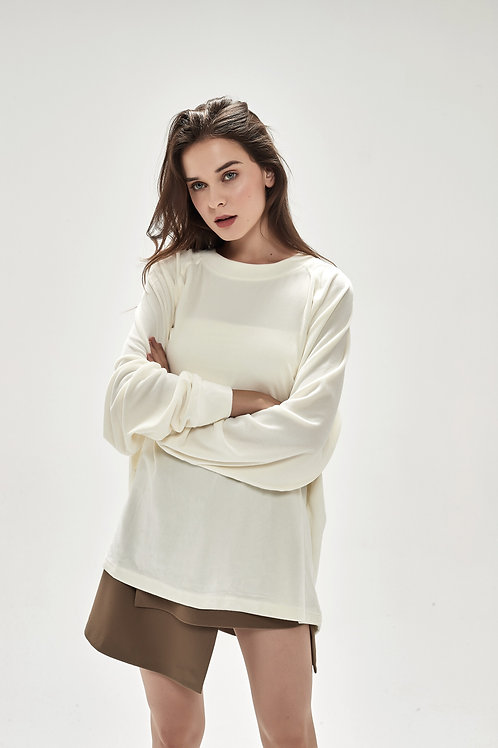 Ultra Soft Mink Velvet Sweater