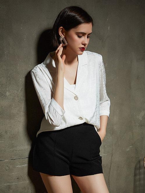 Vintage Style Mid-sleeved Shirt