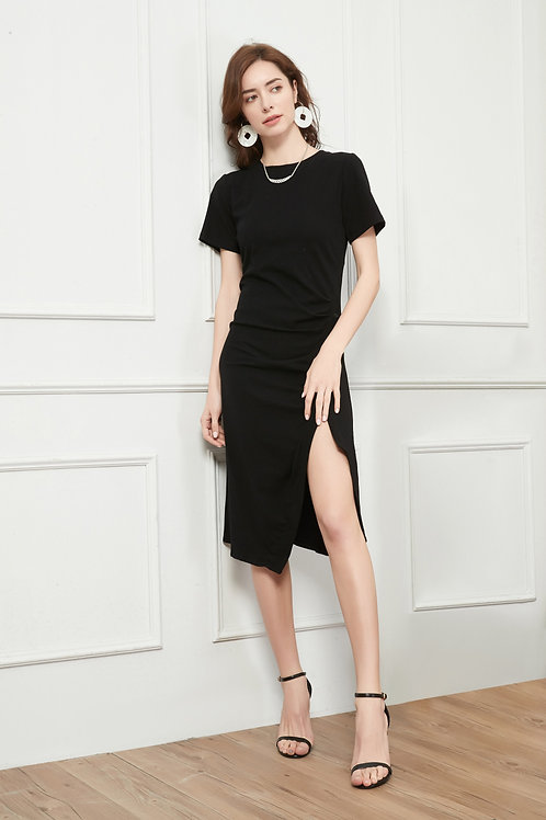 Chic Midi T-shirt Dress
