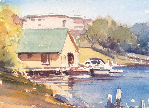 Boathouse at Forster