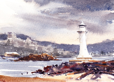 Storm, Wollongong Lighthouse