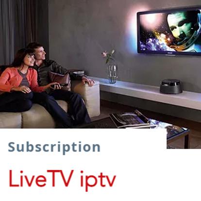 IiveTV IpTv subscription   $13.5/1month  $38/3months $65/6months