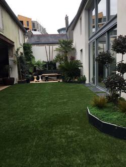Création jardin de ville