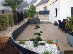 Création d'une terrasse