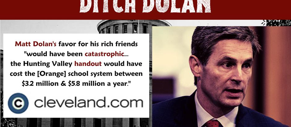 Matt Dolan Tries to Help His Rich Friends - By Devastating Local Schools