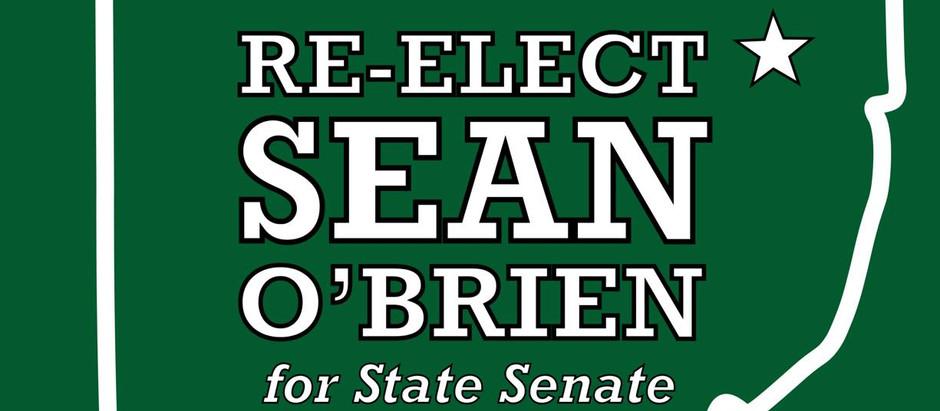 Senator Sean O'Brien Raises 131x His Opponent's Fundraising Total
