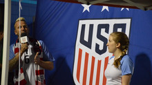 GOAL! Mady Sings for the Women's US Soccer Team
