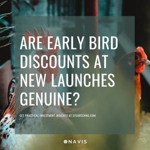 discounts at new launch projects singapore