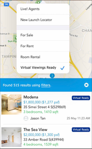 virtual viewings properties singapore