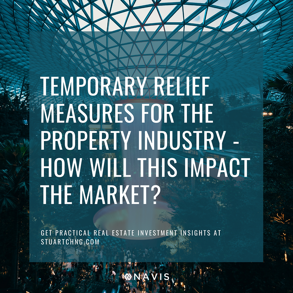 temporary relief property market covid 19