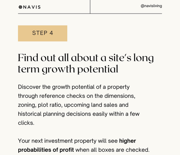 Find out all about a site's long term growth potential