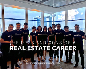 pros and cons of real estate career article link