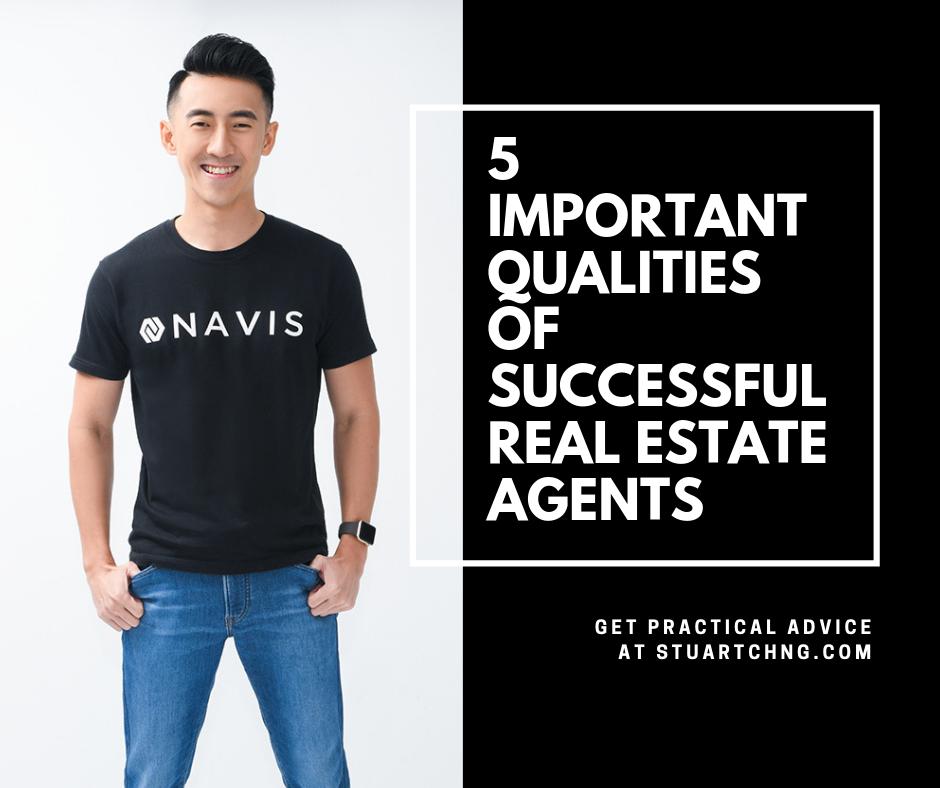 5 Important Characteristics of success real estate agents