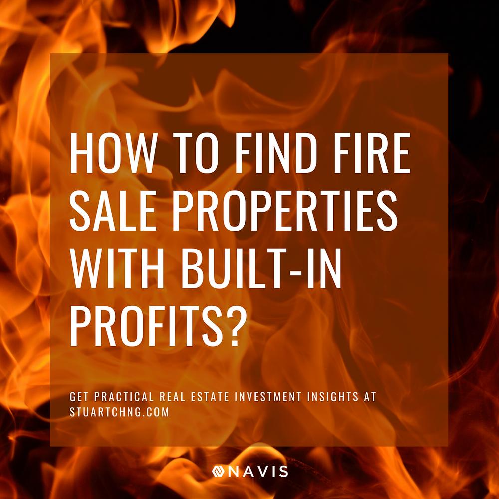 fire sale properties singapore urgent auction