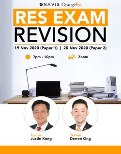 RES Revision Tutorials for Aspiring New Agents