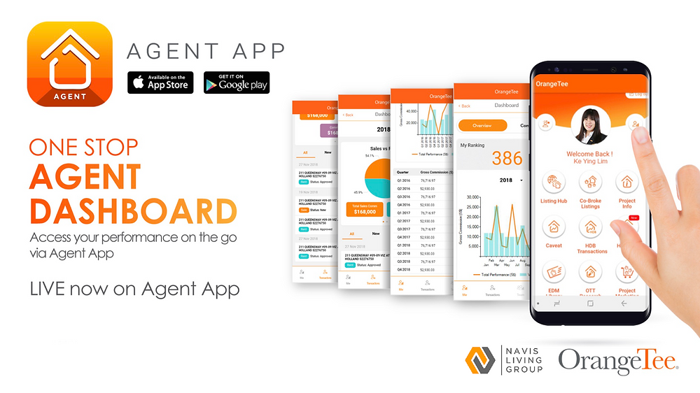OrangeTee Property Agent App Singapore