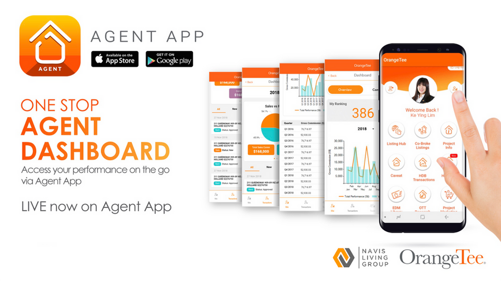 OrangeTee & Tie's Super App for Real Estate Agents