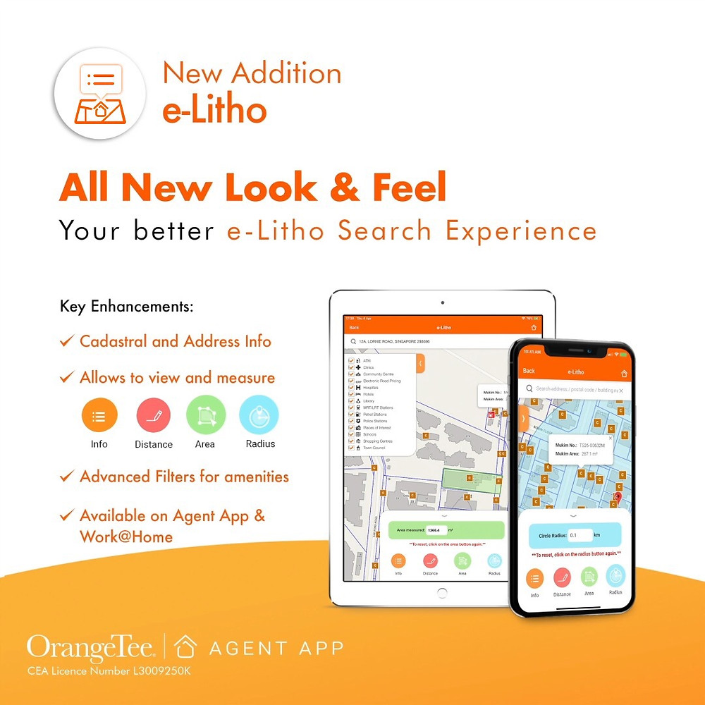 e-Litho OrangeTee App Real Estate