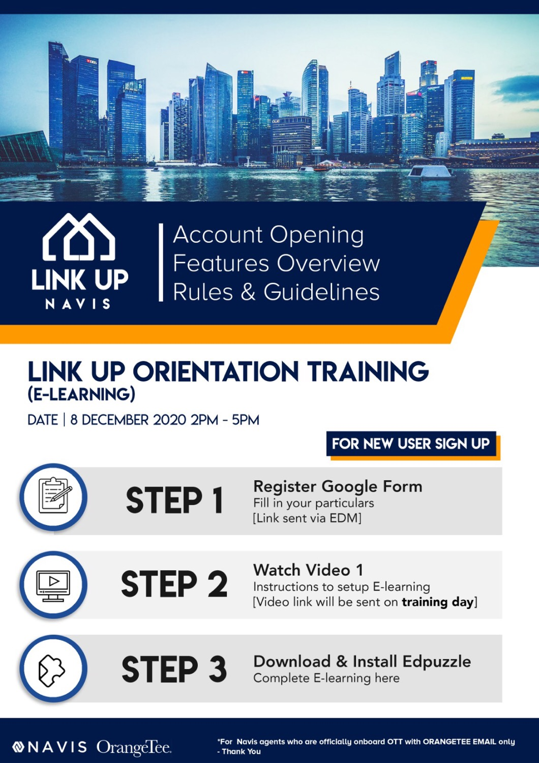 Link Up Mobile App Orientation Training
