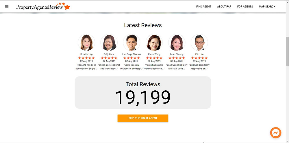 singapore property agents review