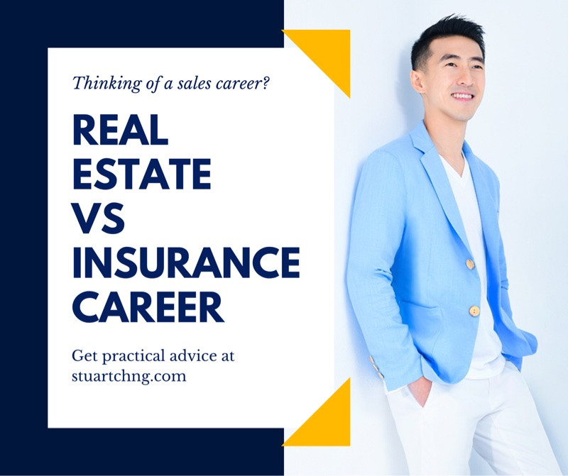 Real Estate career or Insurance Sales Career