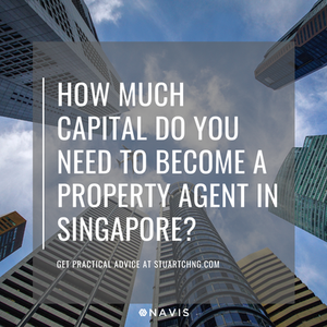 capital required to be property agent