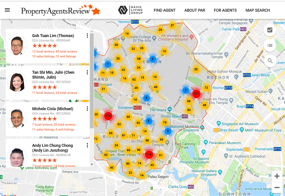 property agent review orangetee singapore