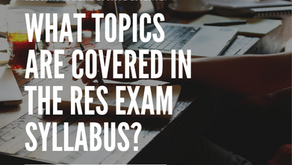 What topics are covered in the RES Course & Exam Syllabus (2021)?