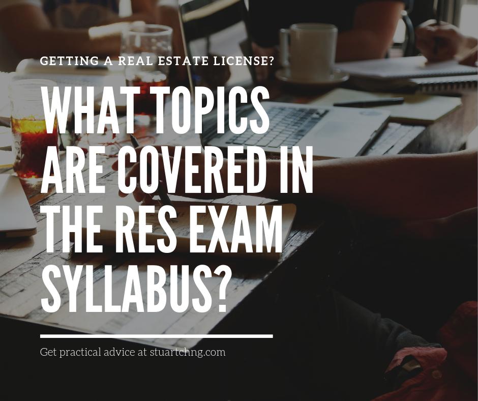 topics in res course exam syllabus