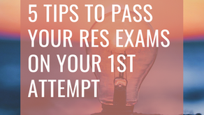 5 Tips To Pass The RES Exams on Your 1st Attempt (Revision Tips)
