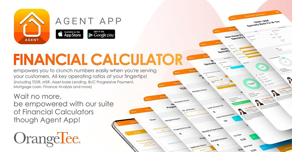 orangetee real estate financial calculators