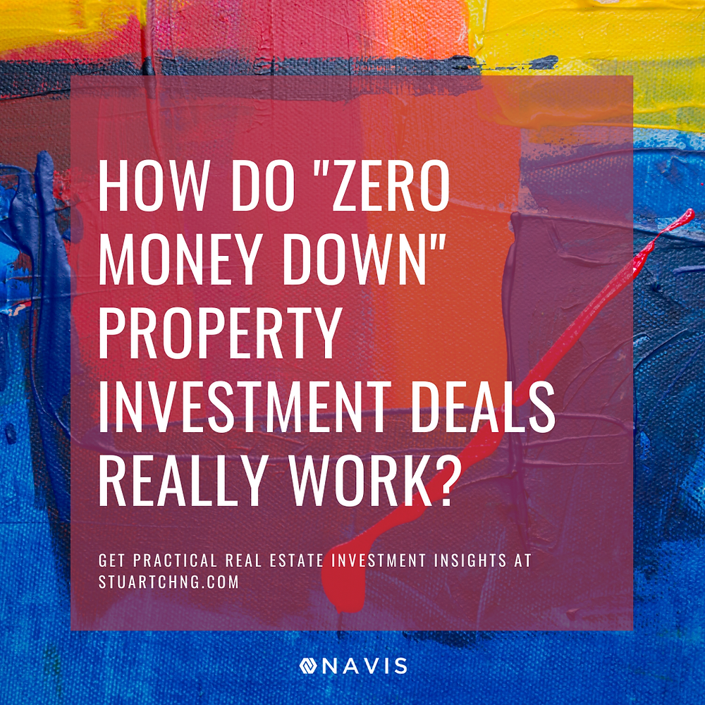 """How Do """"Zero Money Down"""" Property Investment Deals Really Work?"""