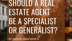 Should A Real Estate Agent Be A Specialist Or Generalist?