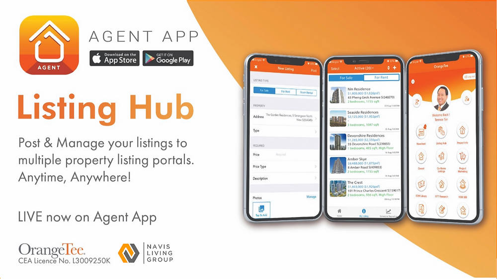 OrangeTee Agents Super App Listing Hub