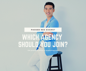 which agency should i join after passing my RES exam