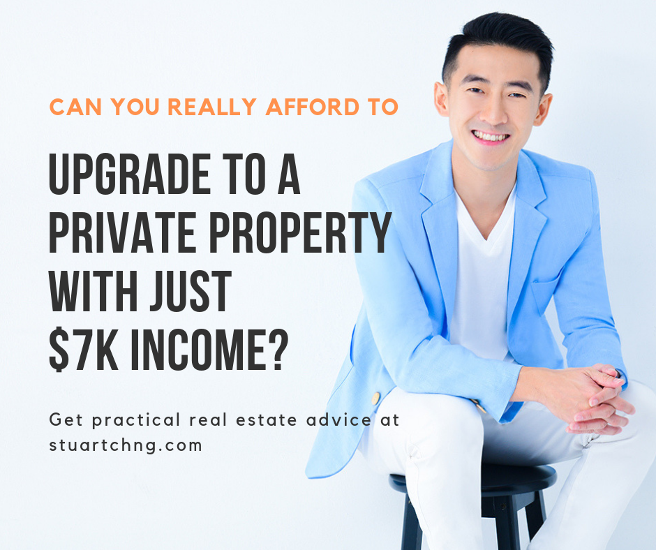 How to upgrade to a condo with just 7k income?