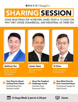 NAVIS Achievers Sharing Sessions