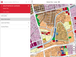 URA masterplan research zoning