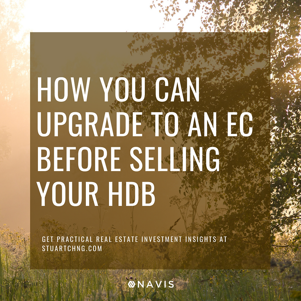 How You Can Upgrade To An EC Before Selling Your HDB