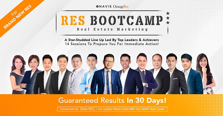 RES TRAINING BOOTCAMP FOR BRAND NEW AGEN