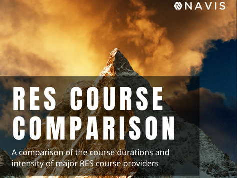 RES Course Provider Comparison Review (Updated 2021 By Duration & Intensity)