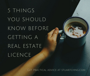 5 Things You Should Know Before Getting A Property Agent License
