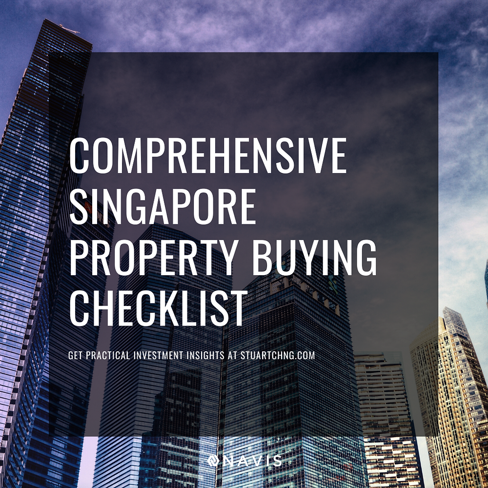 property buying guide checklist singapore