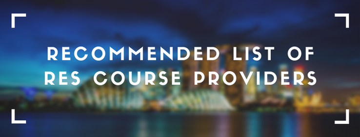 list of res course providers