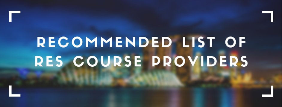 recommended list of res course providers