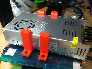 No slip power supply mount clip bracket for any width aluminum extrusion 20mm Openbuilds v-slot / Mi